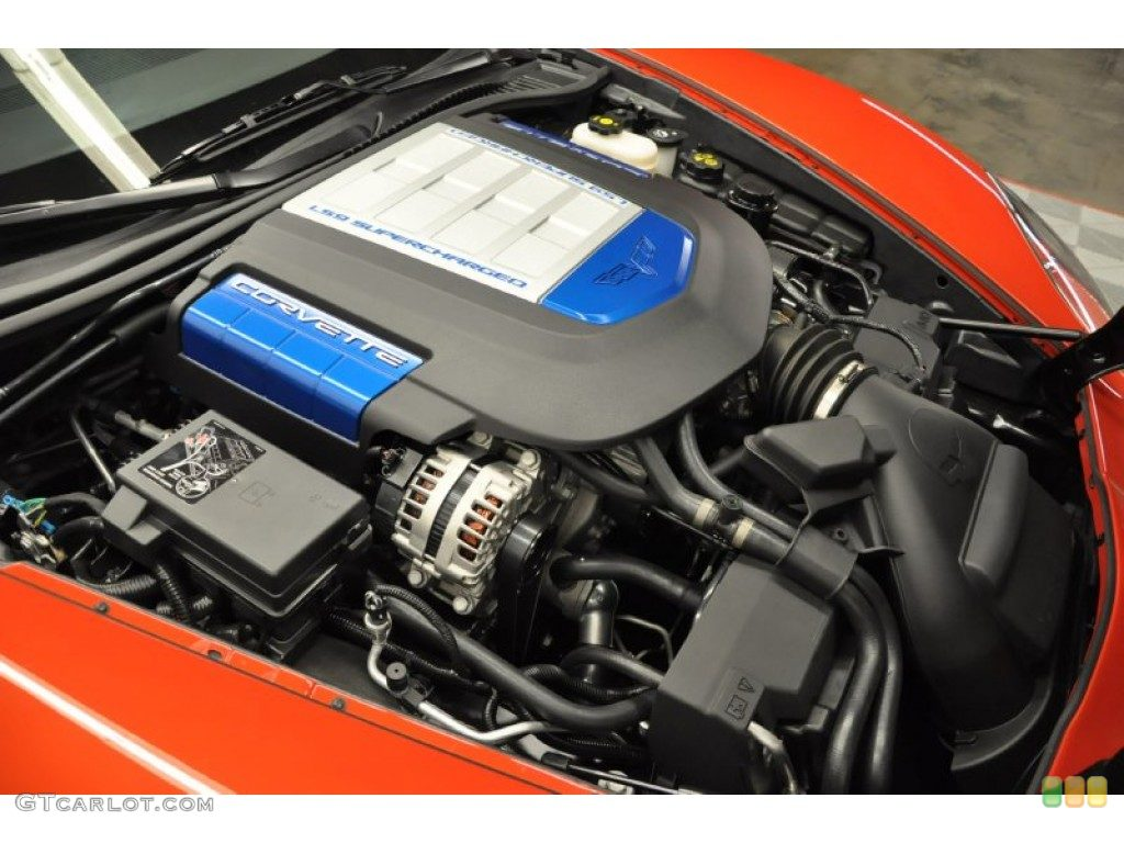 Corvette ZR1 engine