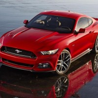 2015 For Mustang at Detroit Auto Show
